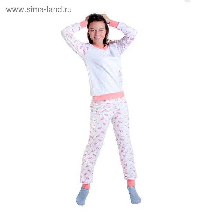 Комплект женский (фуфайка, брюки) арт.12с148П, р-р 54-56 (108-112)