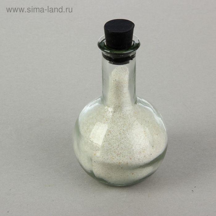Ваза декоративная для песочной церемонии, белое наполнение