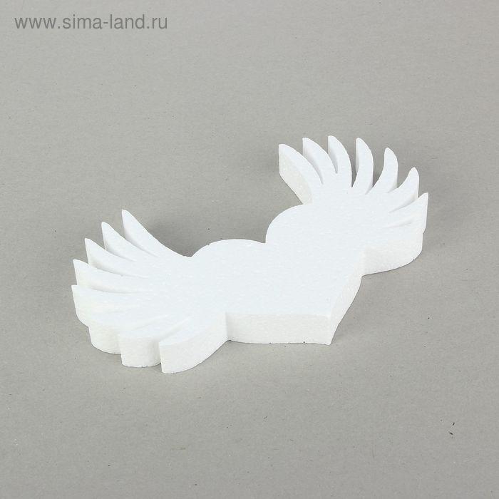 Форма объёмная из пенопласта «Сердце ангела», 24 × 15 см