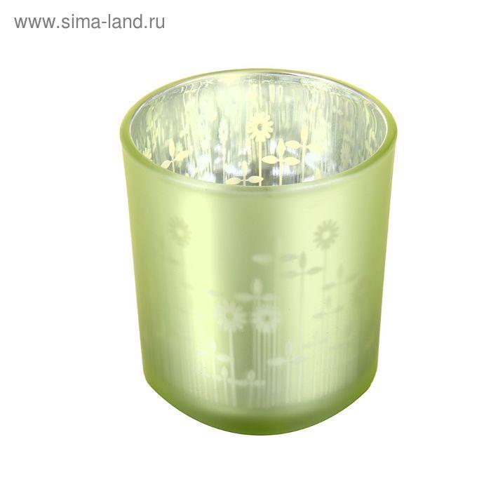 """Подсвечник на 1 свечу """"Подсолнуховое поле"""""""