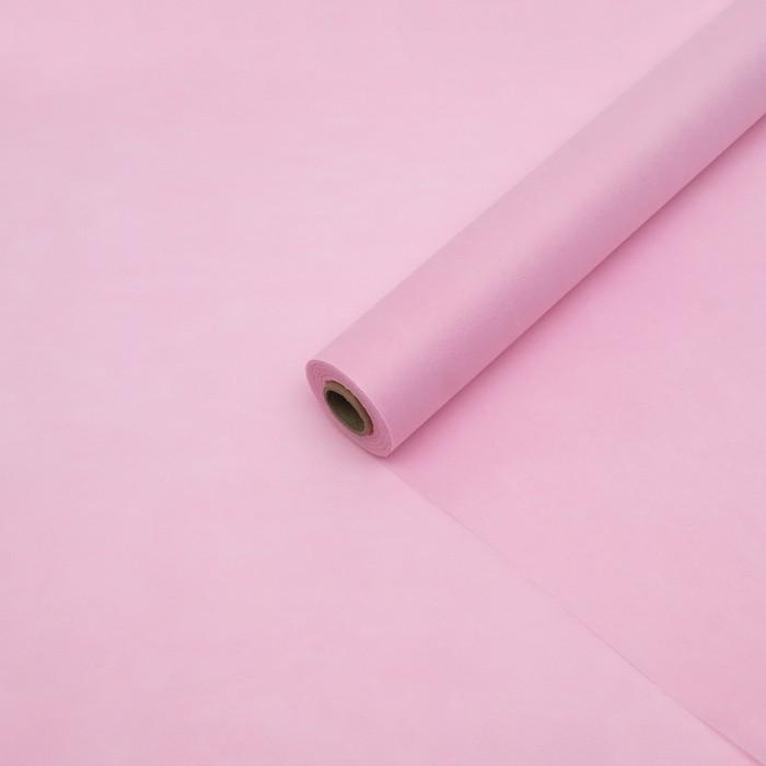 Фетр однотонный светло-розовый, 50 см x 20 м