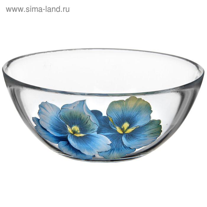 """Салатник 250 мл """"Голубая орхидея"""", d=13 см"""