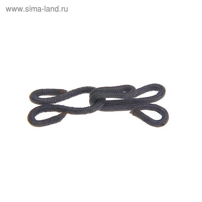 Крючки шубные обтяжные, 10шт, цвет серый