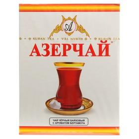 Чай Азерчай Tea с ароматом бергамота, картонная упаковка, 100 гр