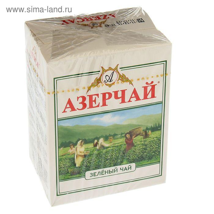 Чай зеленый Азерчай, Greеn Tea, 100 г