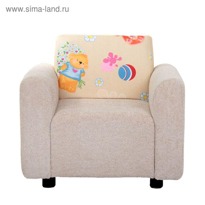 Кресло детское астра77/35/той2 компаньон, 59х55х47см, двп/дсп, поролон, меб.ткань