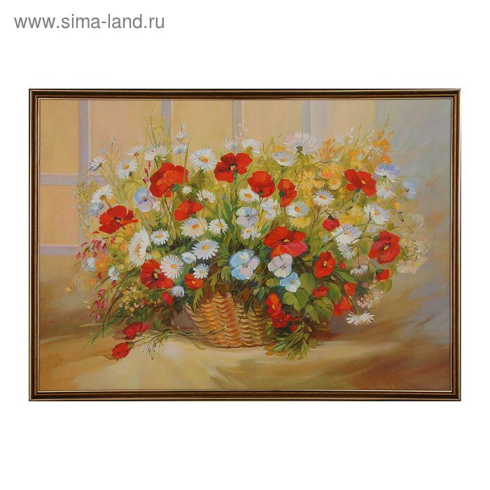 """Картина """"Корзина цветов"""""""