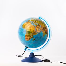 Глобус ландшафтный диаметр 250мм 'Классик Евро', с подсветкой Ош