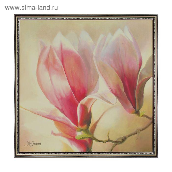 """Картина """"Бело-розовая магнолия"""""""