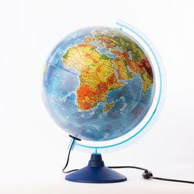 Глобус физико-политический, d = 320 мм, «Классик Евро», с подсветкой