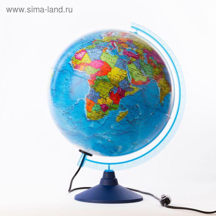"""Глобус политический диаметр 320мм """"Классик Евро"""", с подсветкой"""