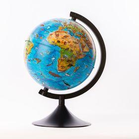 """Глобус зоогеографический Детский диаметр 210мм """"Классик"""""""