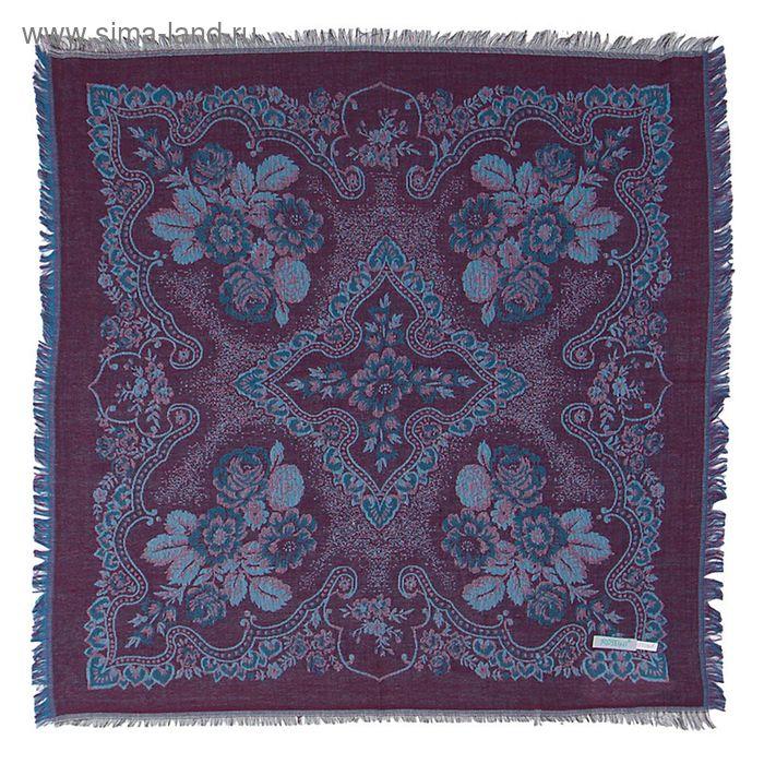 Платок текстильный жаккардовый, 80*80 см, цвет 2В # K 342