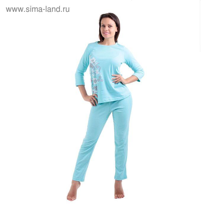 Пижама женская LP06-010K бирюзовый, р-р 50