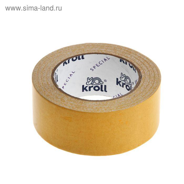 Клейкая лента двусторонняя PVC Kroll Special 48мм*25м