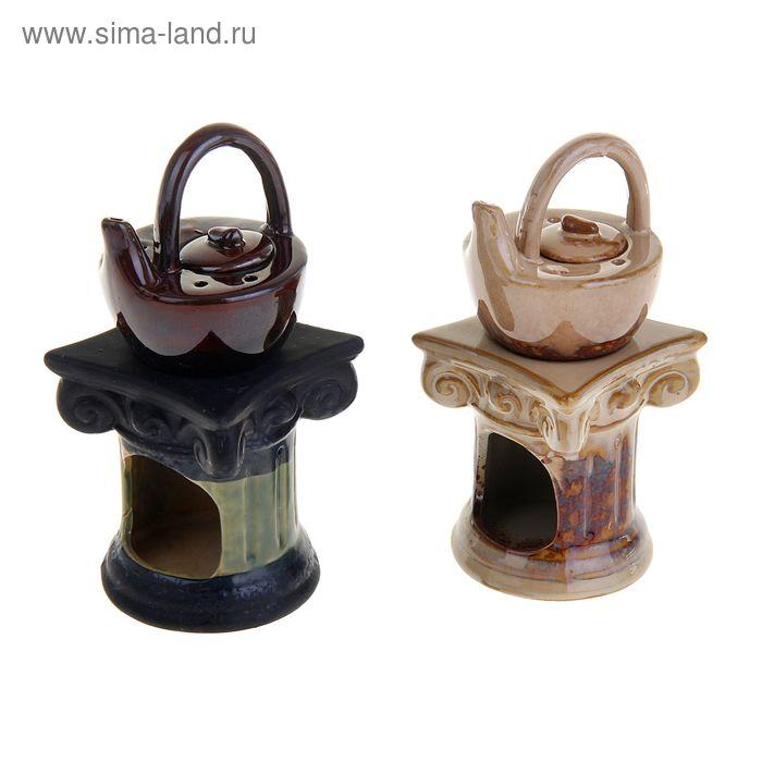 """Аромалампа """"Чайничек на колонне"""" античность МИКС"""