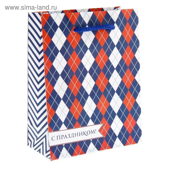 Пакет ламинат вертикальный «Российский», S 11 х 14 х 5,5 см