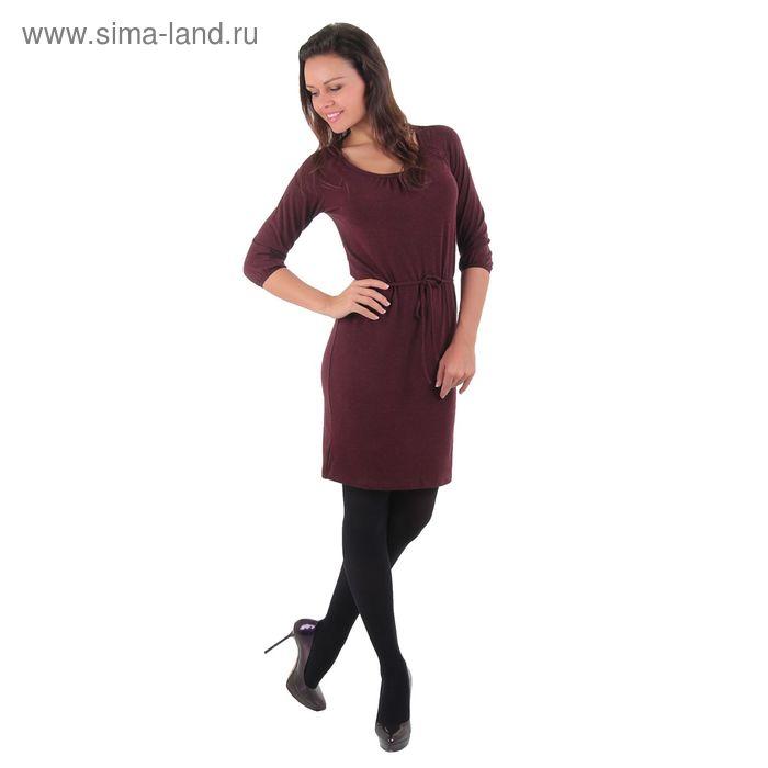 Платье женское Адажио MV242440/01 бордовый, р-р 42, рост 158-164 см