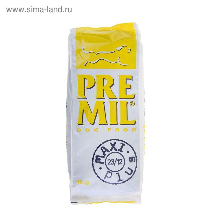 Сухой корм для собак малых и средних пород Premil Maxi Plus 1 кг
