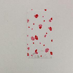 """Пакет подарочный """"Сердечки"""" 15 х 30 см, 2-х цветный рисунок"""