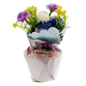 "Цветы в букете ""Ты самая нежная"", 15 х 10 см"