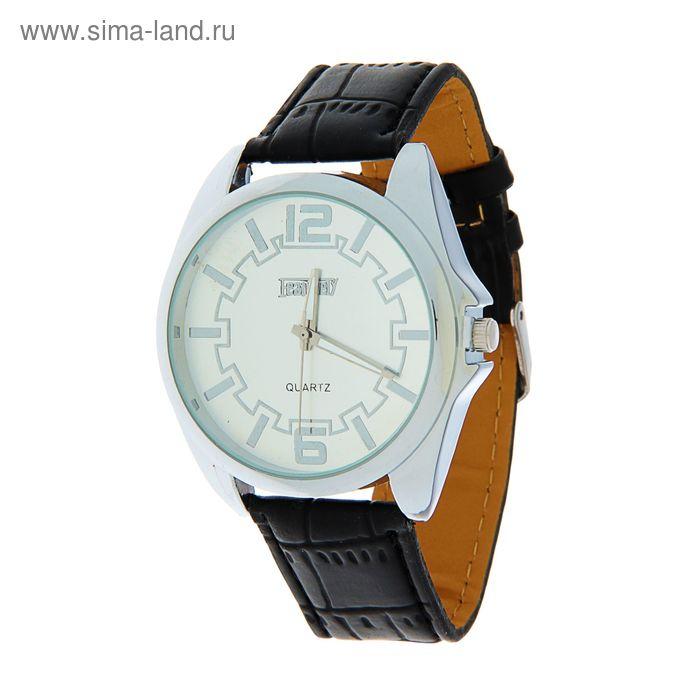 Часы наручные мужскиеFeaturely мод.9 (белый-серебрянный-черный)