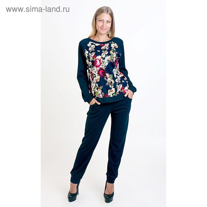 Комплект женский (фуфайка, брюки) ТК-885, цвет микс, размер 46, интерлок