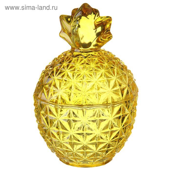 "Сахарница 300 мл ""Ладислао"", 8,5х15 см, цвет желтый"